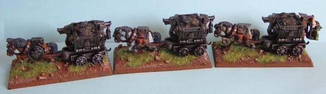 [Boîte à idées] Figurines/décors Nains - Page 2 Wagon+convoy