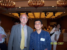 Andri with Prof Brian E.Leonard (The Past President of CINP)