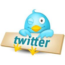 Eu no twitter...