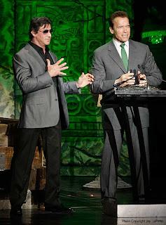 Sylvester Stallone e Schwarzenegger