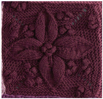 Knitting Patterns For 12 Inch Squares : The Friendship Afghan Project: July 2010