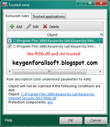 Kaspersky 2011 Anti Blacklist Crack.v3.0 Update (Crack 4065 ngày)