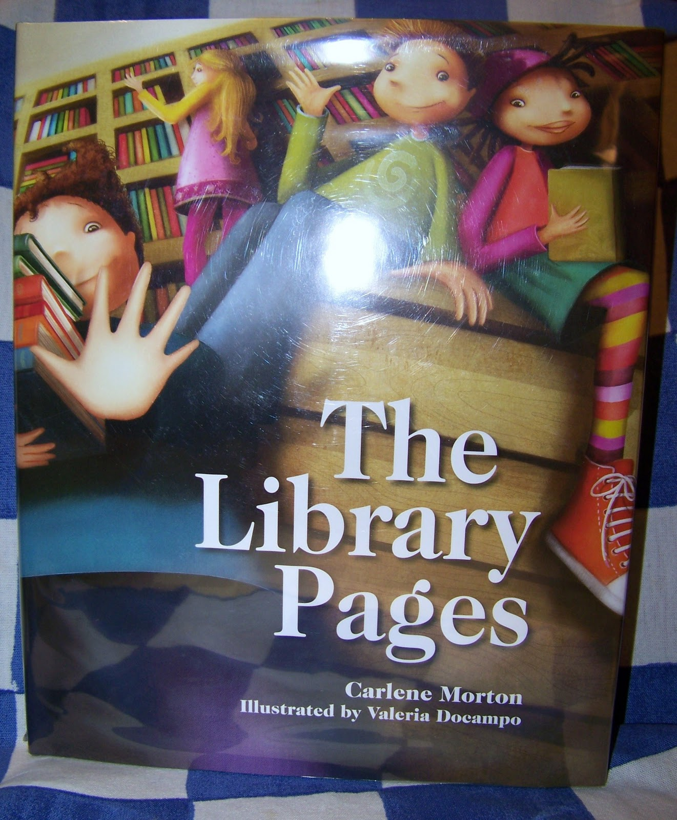The Library Pages Carlene Morton and Valeria Docampo