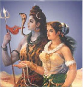 Jeu d'Images et scènes stimulantes  Siva+parvati