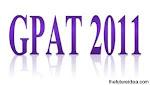 GPAT 2011