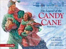 after the jeopardy game was complete i quickly told the kids the legend of the candy cane based on this book - Christmas Jeopardy Game