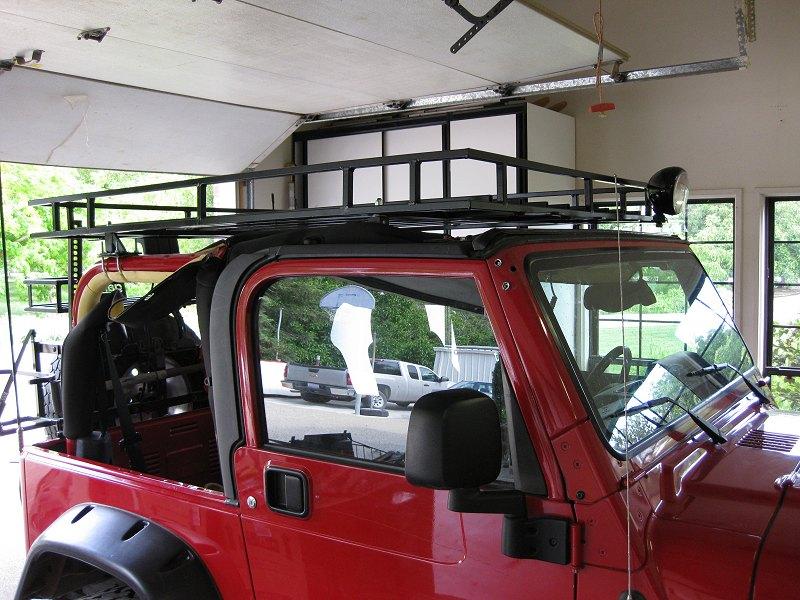 a good jeep roof rack. Black Bedroom Furniture Sets. Home Design Ideas