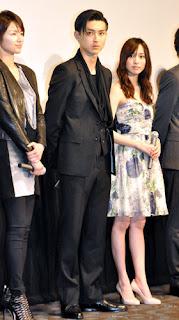 Michiko Kichise, Shota Matsuda e Erika Toda