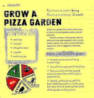 Pizza Oven Project: Pizza Garden Instructions
