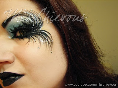 Julia Graf: Fallen Angel Halloween Makeup