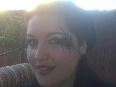 fallen angel makeup. Ssalazar with the Fallen Angel