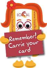 Carrie your card!