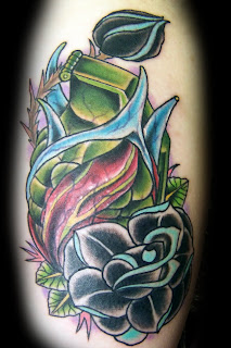 I have not updated my Blog in  Heart Grenade Tattoo
