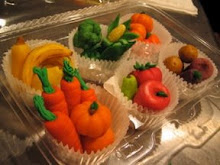 Marzipan Fruits and Veggies
