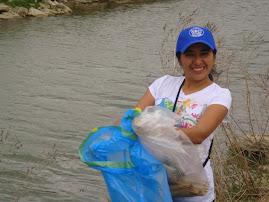 En actividades de voluntariado