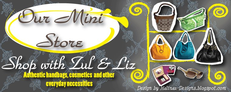 Shop with Zul & Liz- Come Shop With Us
