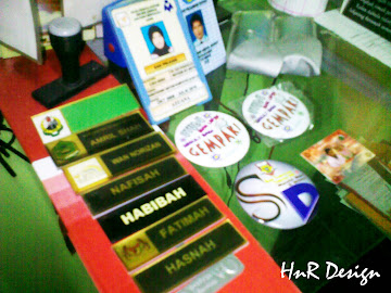 Name tag,Id card,button badges, dan rubber stamp