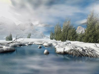 Imagini de iarna pentru desktop