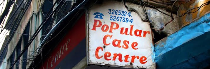 Thepopularcasecentre, living in Delhi, India