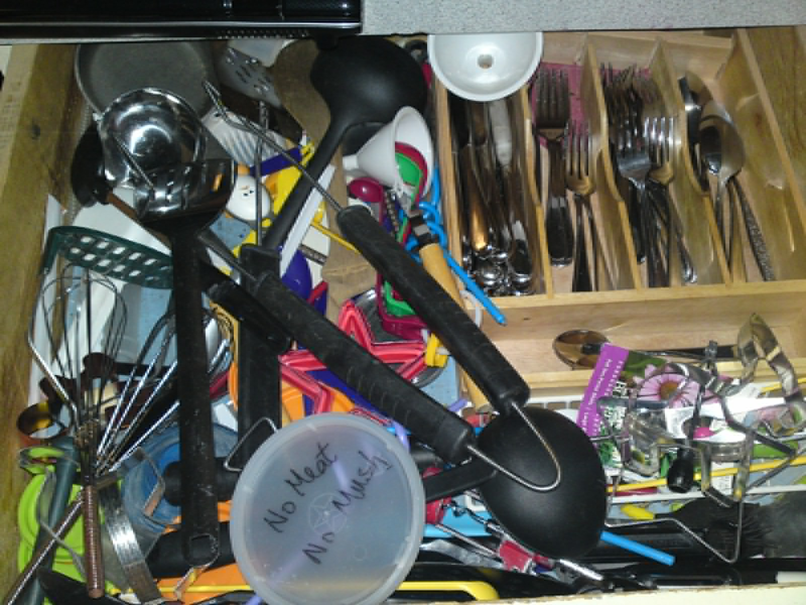 My Silverware Drawer, Before