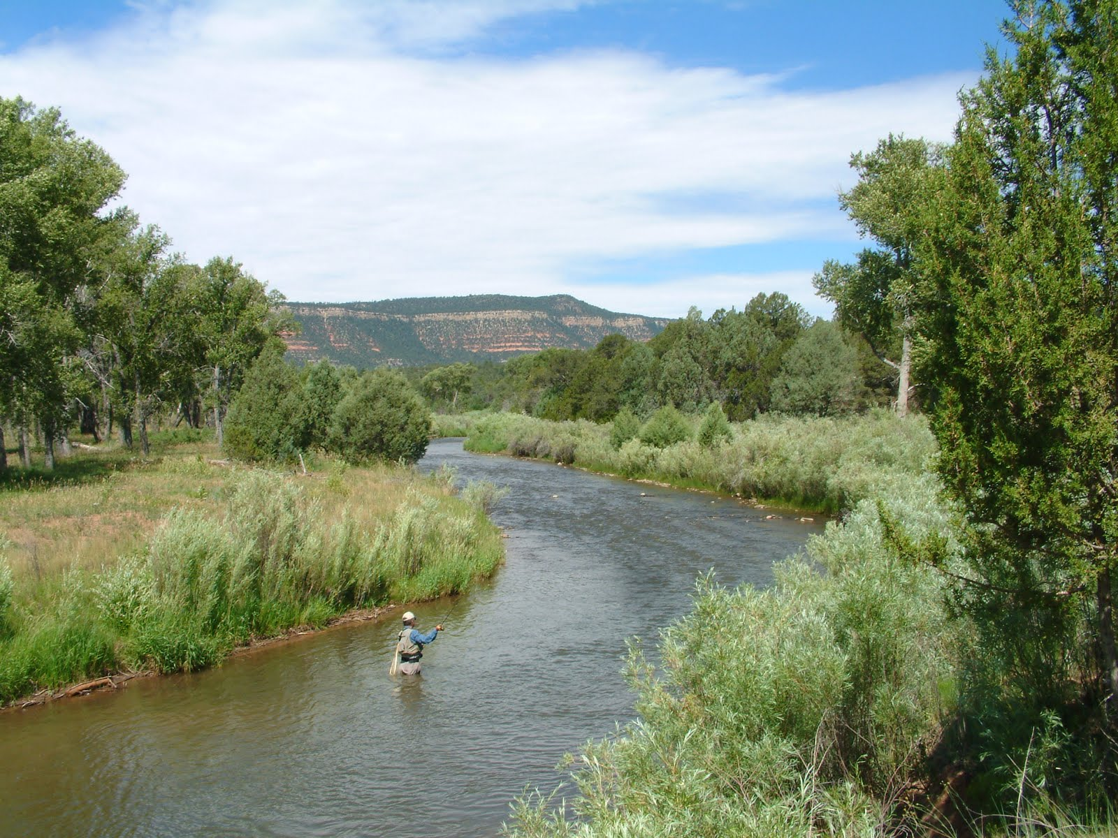 Fly fishing the pecos national historical park check it for Pecos river fishing