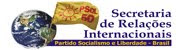 Secretaria de Relações internacionais do PSOL.