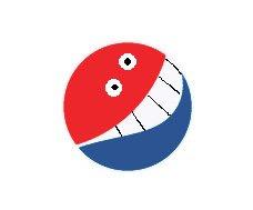 new pepsi logo smile Pepsi