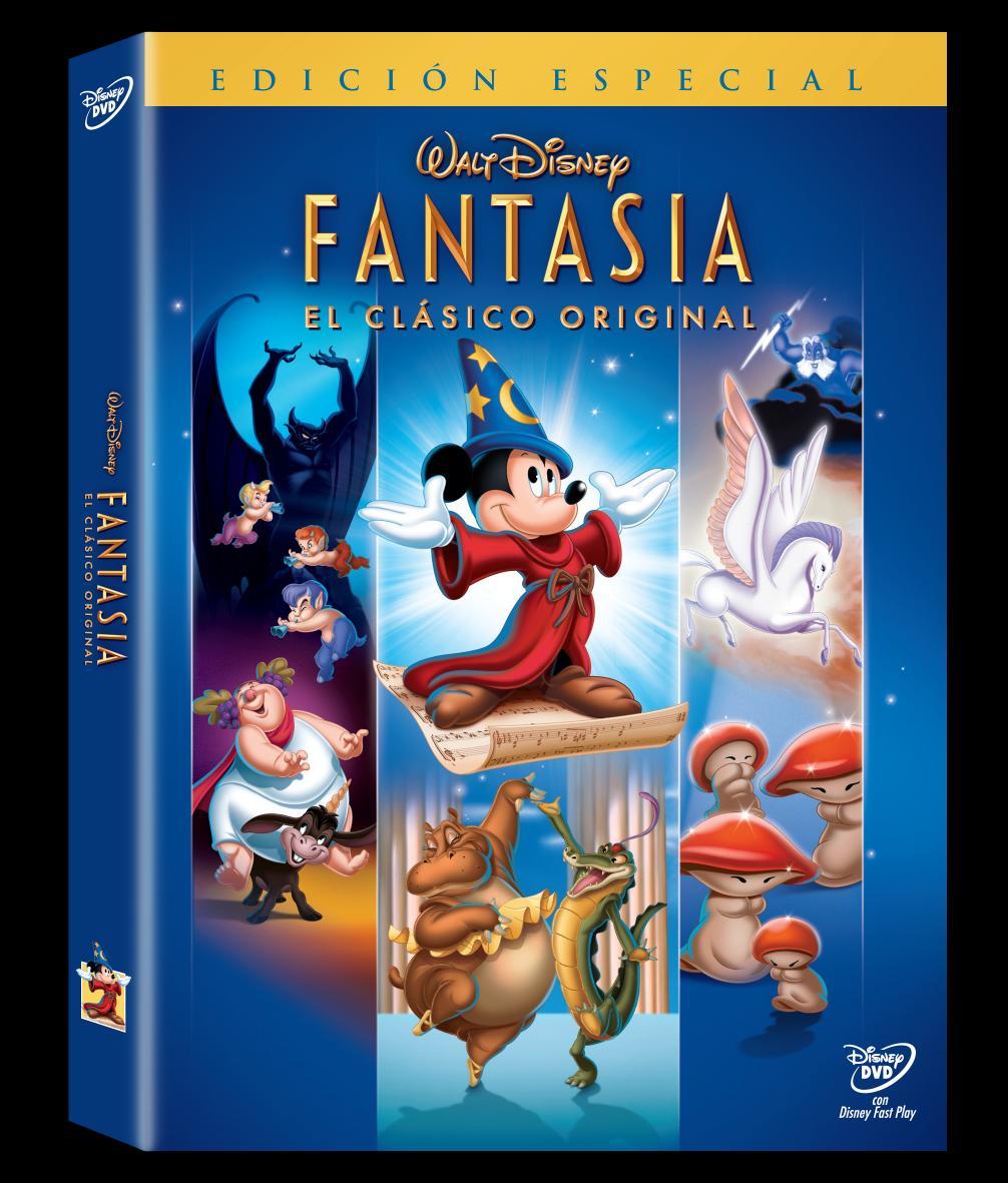 Peliculas en DVD y Blu-Ray: Fantasia, Fantasia 2000, Resident Evil