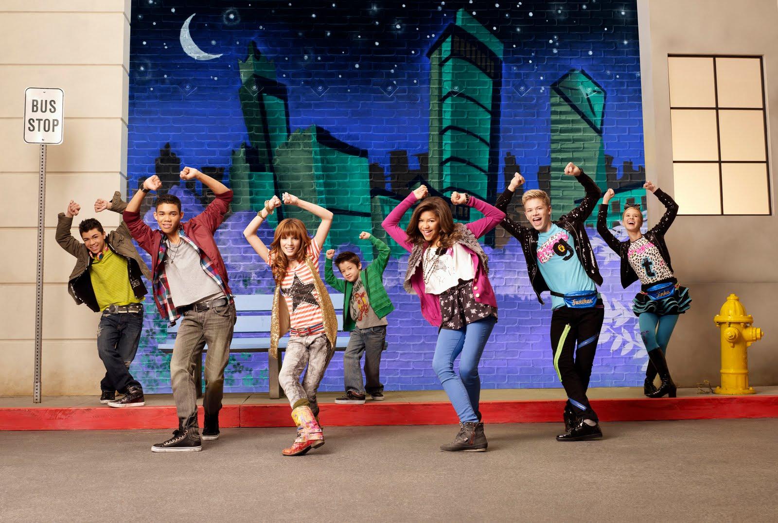 el popular programa de baile adolescente a todo ritmo chicago