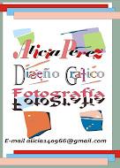 Alicia Perez: Diseño Grafico. Fotografía.