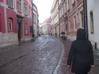 The oldest street in Kraków Cracow