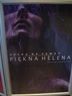 Piekna Helena Poster