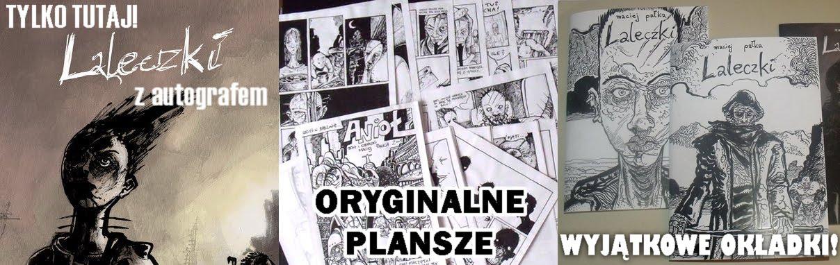 Kup album komiksowy od autora!