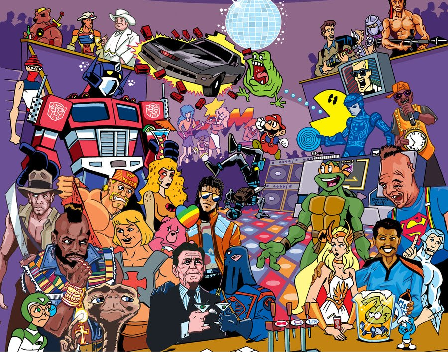 Male Cartoon Characters 80 S : Popped culture and then the s exploded