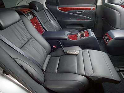 2010 Lexus LS 460 Exclusive Cabin