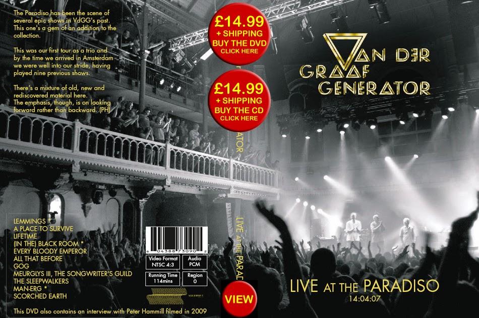 Luiz Woodstock  Van Der Graaf Generator - Live At The Paradiso