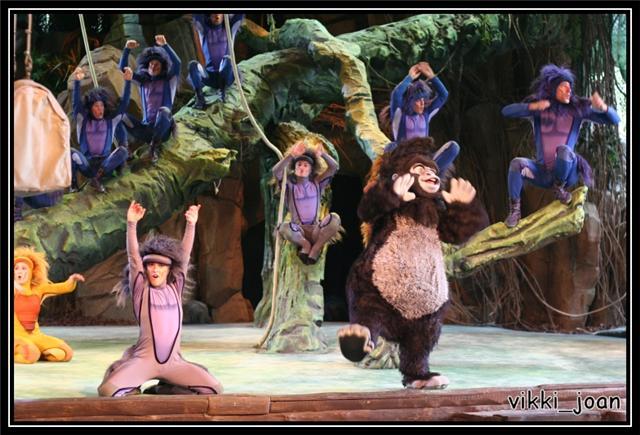 Disneyland Paris - Tarzan La Rencontre