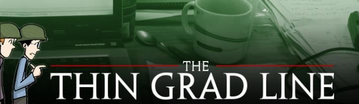 The thin grad line