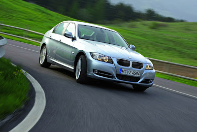 BMW E90 Series driving picture