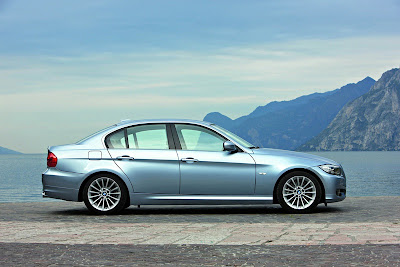 BMW E90 Series side profile picture