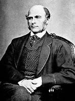 Francis Galton, spiritual father of Richard Dawkins