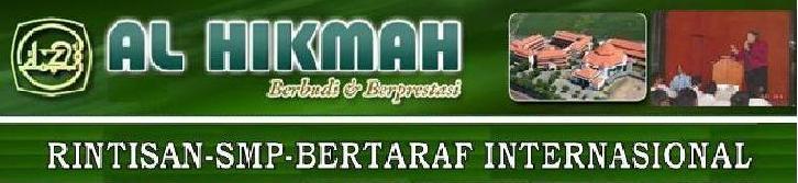 RSBI SMP AL HIKMAH-kurikulum