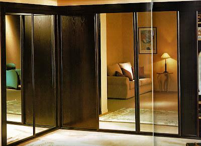 Closets dise os e ideas puertas para closet dise os for Ideas para puertas de closet
