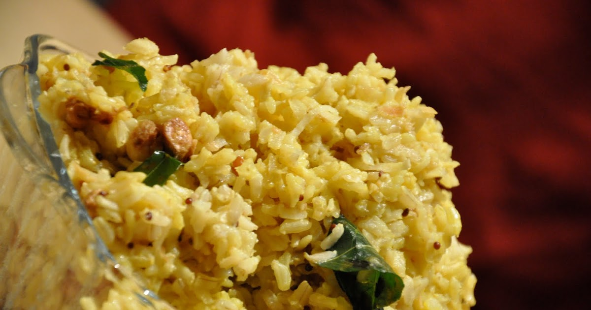 Miz Masala: Rec... Lemon Rice Recipe South Indian Style