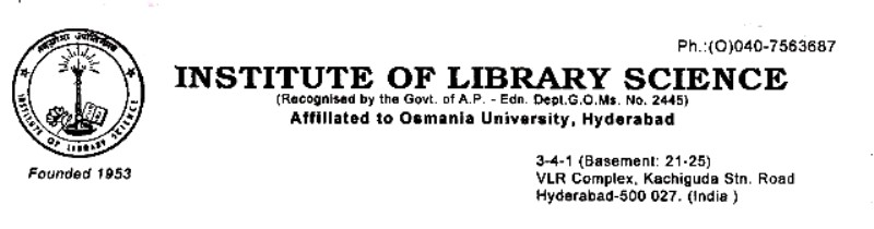 Institute Of Library Science
