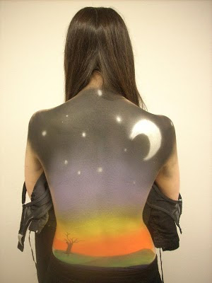 Starmoon Body Painting