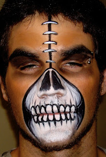 Halloween Face Painting ( 3 )