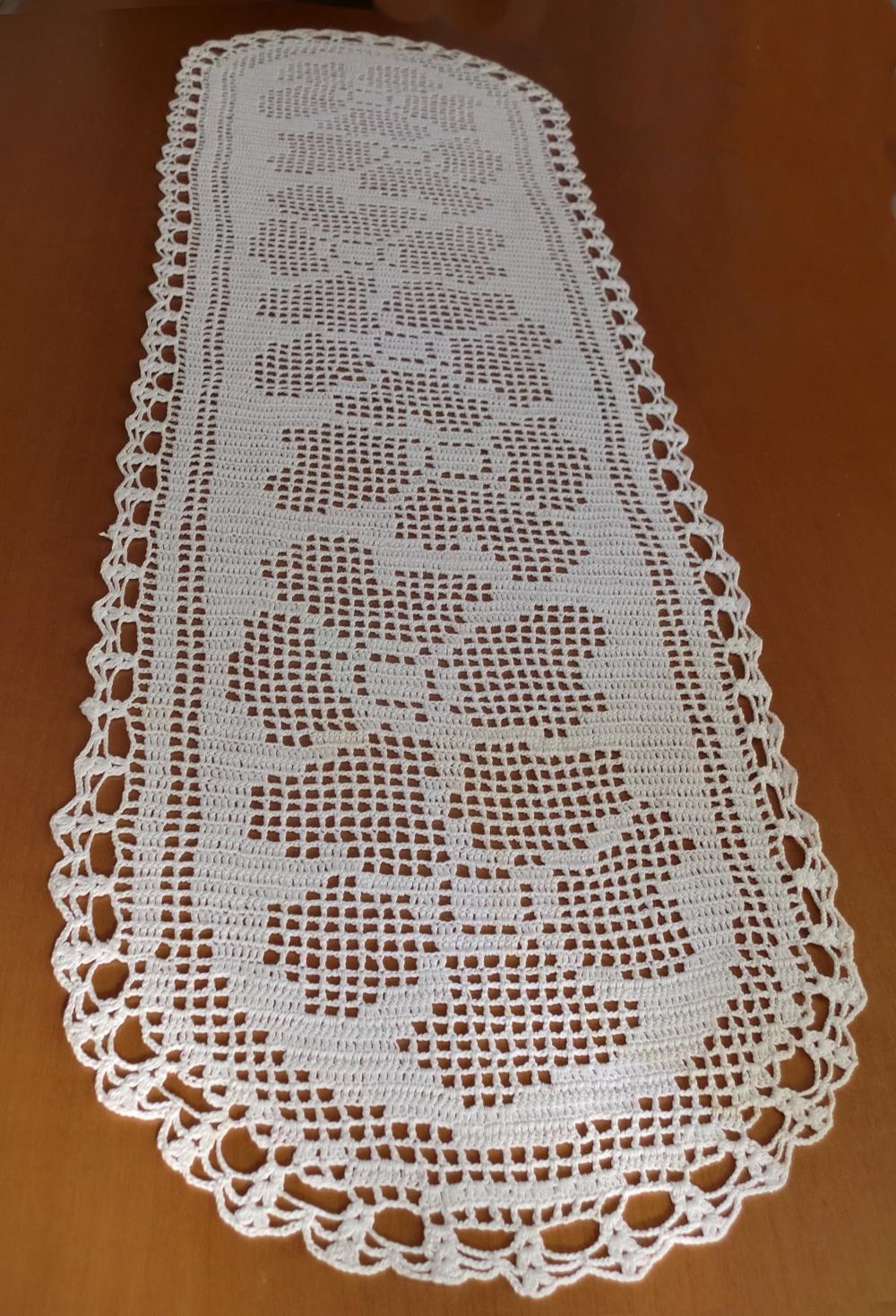 Mi rincon labores de ganchillo tapete grande - Como hacer colcha de ganchillo ...