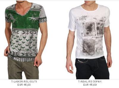 2010 Diesel Erkek Tshirt Modelleri ve Fiyatları