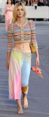 Chanel 2010 ilkbahar yaz koleksiyonundan görüntüler